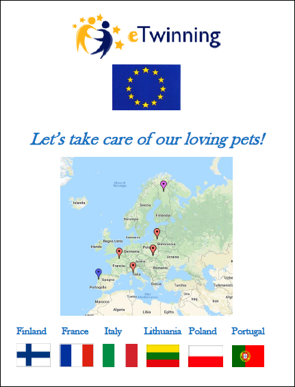 Quality Label Nazionale e Quality Label EUROPEO per Let's take care of our loving pets!